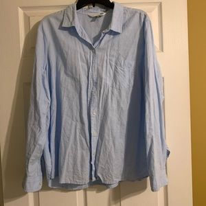 Light blue classic shirt from Old Navy